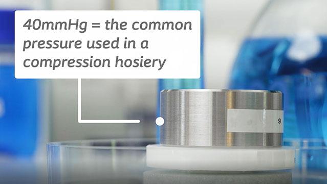 Biatain Fiber can lock in exudate even under compression.