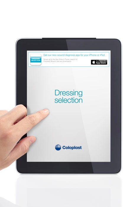 Dressing selection app